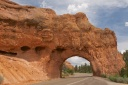 SANDSTONE ARCH, RED CANYON