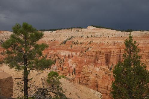 STORMY SKIES, BRYCE CANYON