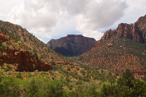 SCENIC ROUTE 9, ZION NATIONAL PARK