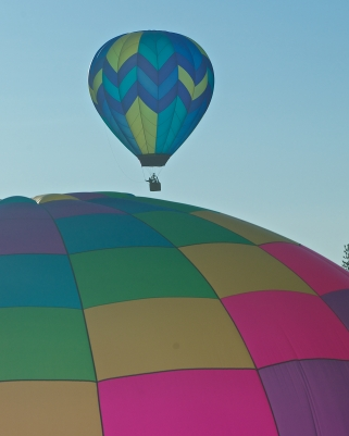 NEAR AND FAR - BALLOONS OVER BEND