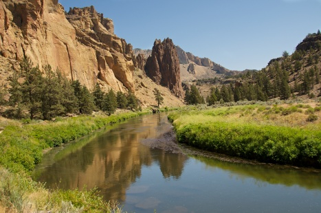 REFLECTIONS, SMITH ROCK