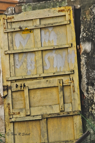 YELLOW DOOR, HANOI, VIETNAM