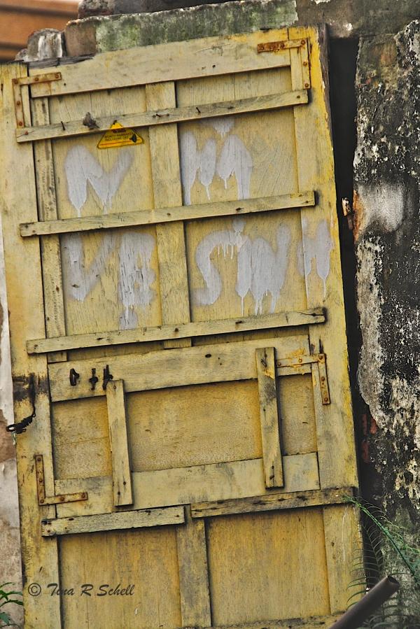 YELLOW DOOR, HANOI, VIETNAM
