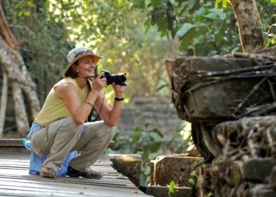 SHOOTING AT ANGKOR WAT, CAMBODIA