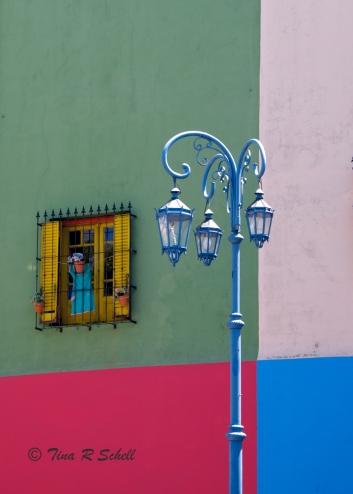 LAMPPOST, LA BOCA, BUENOS AIRES