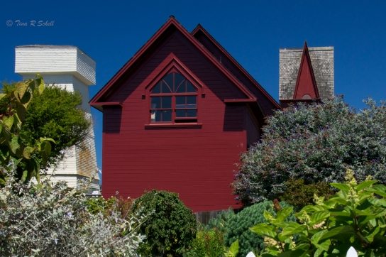 HOUSE ON A HILL, MENDOCINO, CA