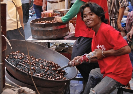 ROAST CHESTNUTS - GET 'EM WHILE THEY'RE HOT