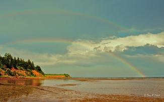 DOUBLE RAINBOW, PRINCE EDWARD ISLAND