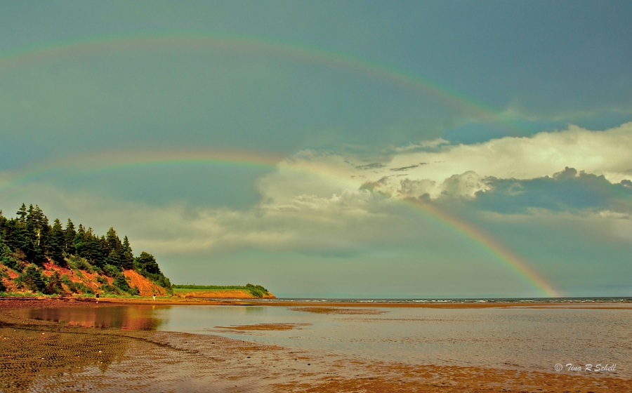 DOUBLE RAINBOW, PRINCE EDWARD ISLAND