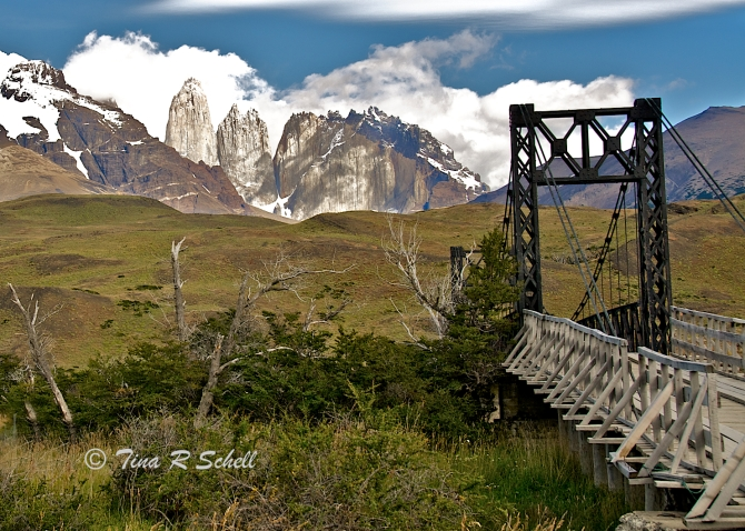 ONE LANE BRIDGE, PATAGONIA