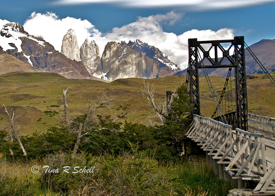 ONE LANE BRIDGE, PATAGONIA