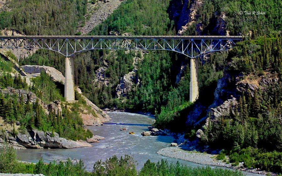 RAILROAD BRIDGE, ALASKA