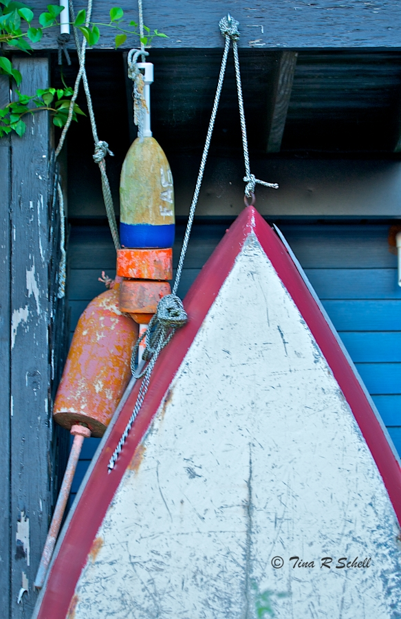 BOATS AND BUOYS