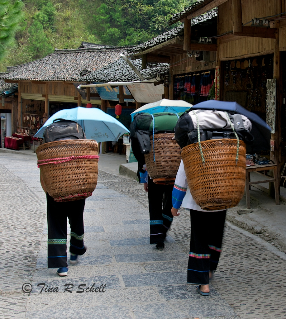 ZHUANG WITH BASKETS