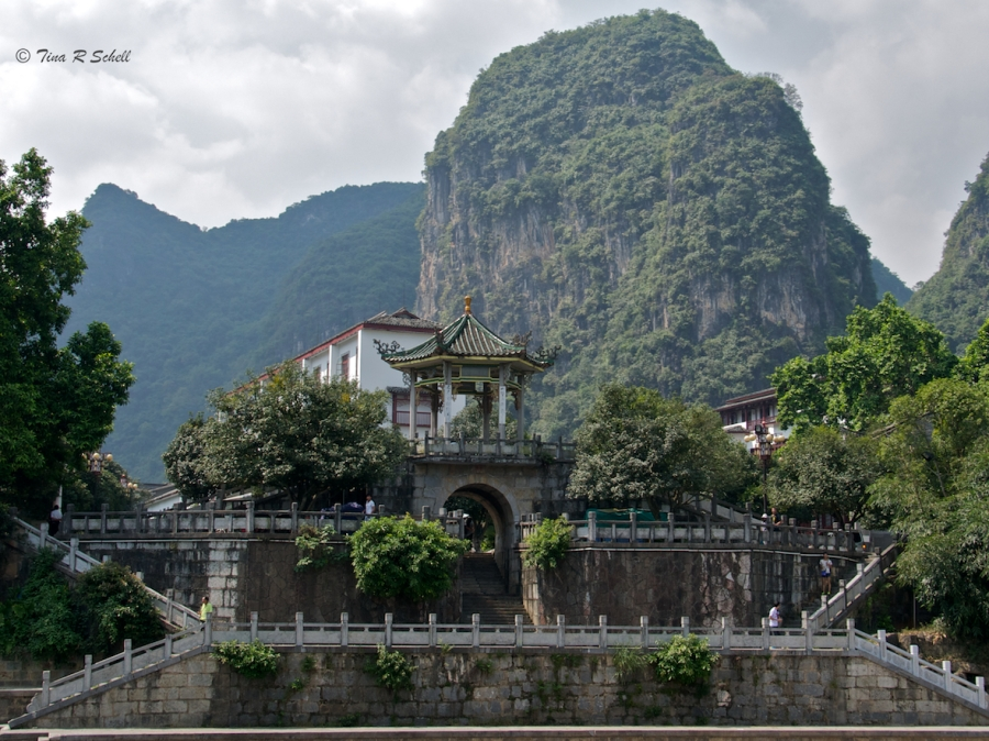TEMPLE AND KARST, GUILIN