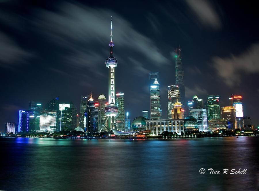 NIGHT SKY - SHANGHAI