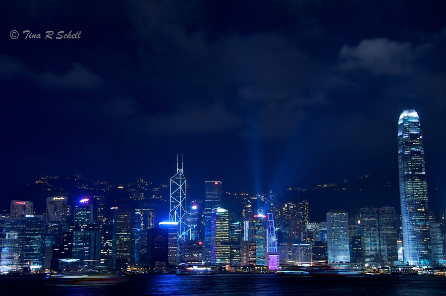 NIGHT LIGHTS - HONG KONG