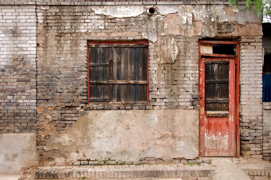 RED DOOR, PING YAO, CHINA
