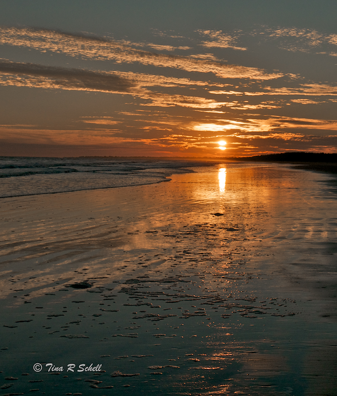 AUTUMN SUNSET, KIAWAH