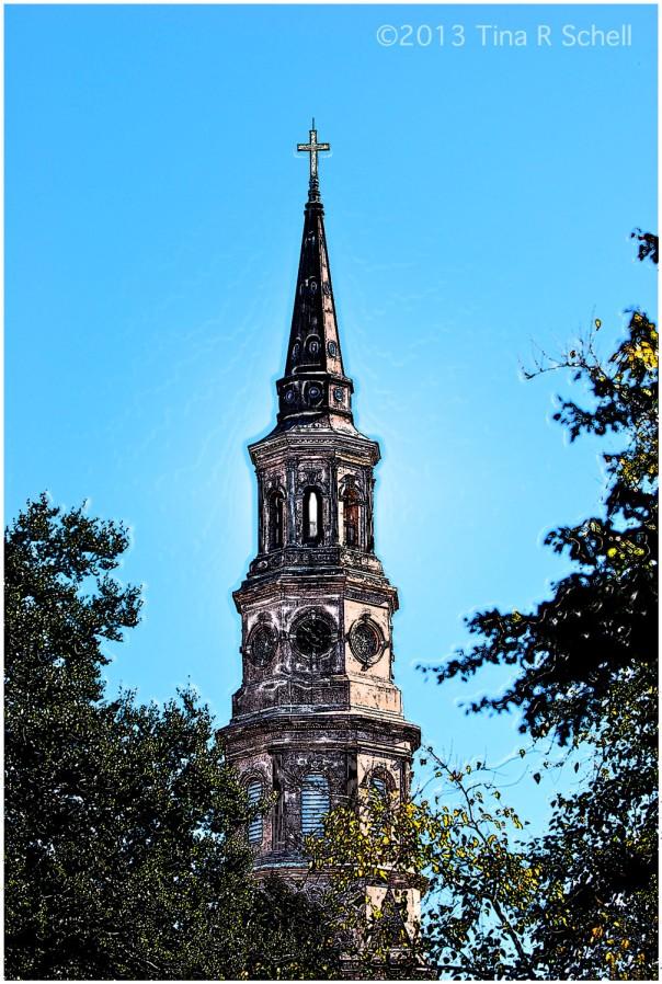 POSTCARD ST. PHILIPS