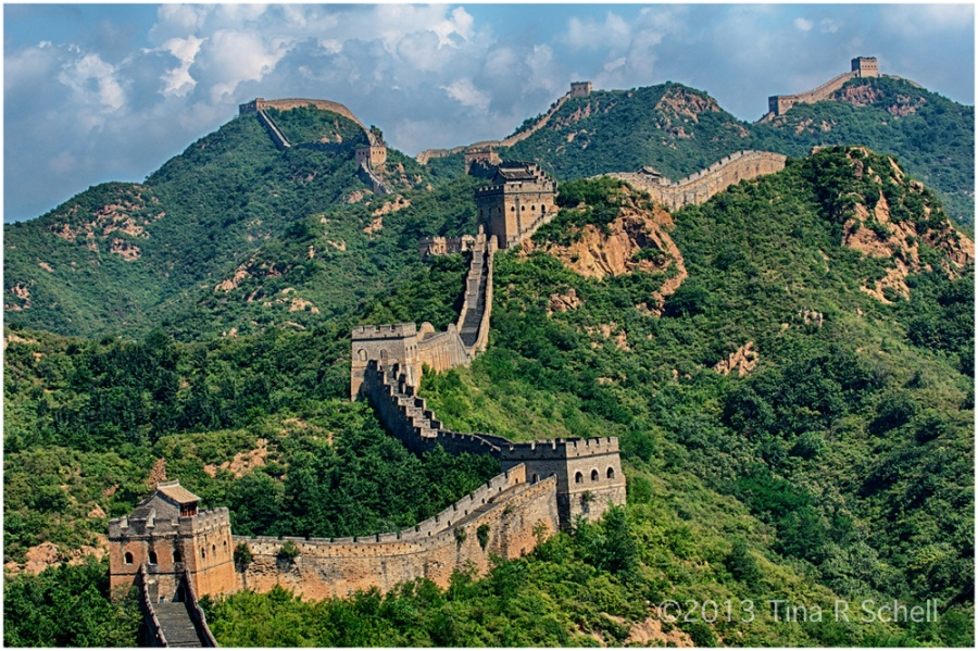 THE GREAT WALL OFCHINA