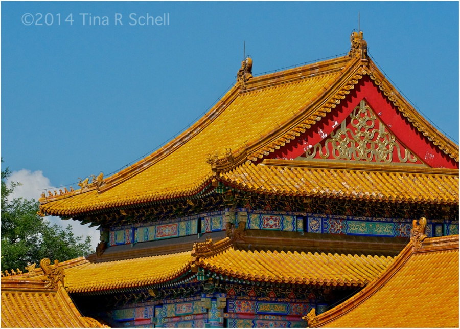 IMPERIAL ROOFTOPS, BEIJING, CHINA