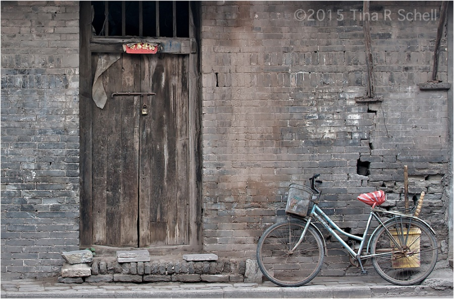 BIKE ON A WALL