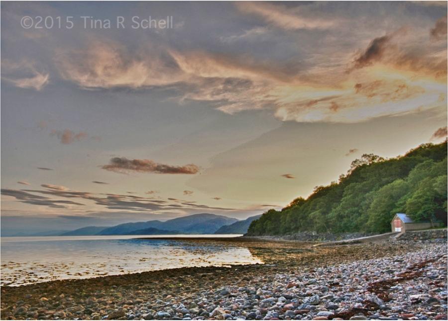 CABIN, SEA AND SKY, SCOTLAND