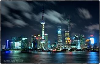 NIGHTFALL, SHANGHAI