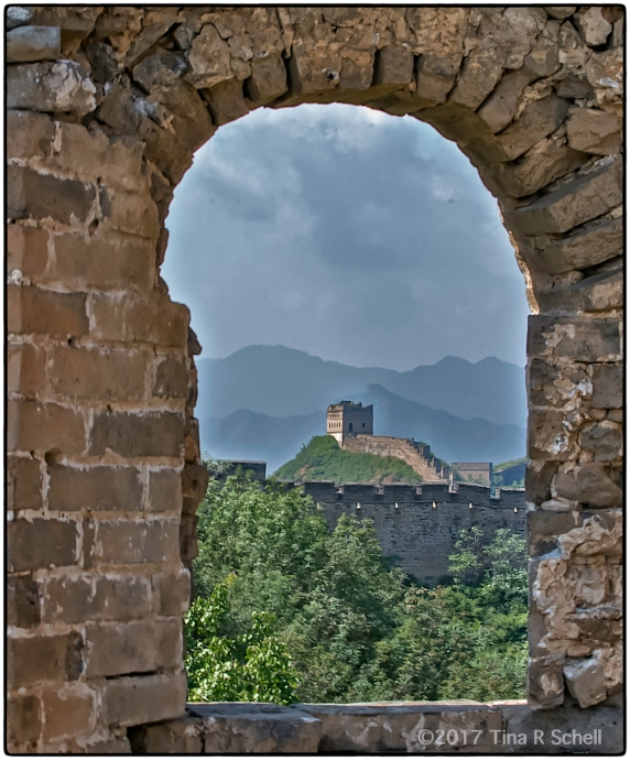 WINDOW ON THE WALL< CHINA