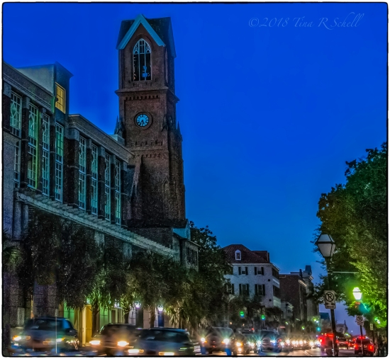 BLUE HOUR, CHARLESTON