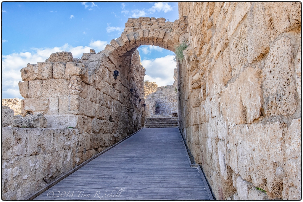 DOORWAY TO THE SKY, CAESAREA, ISRAEL