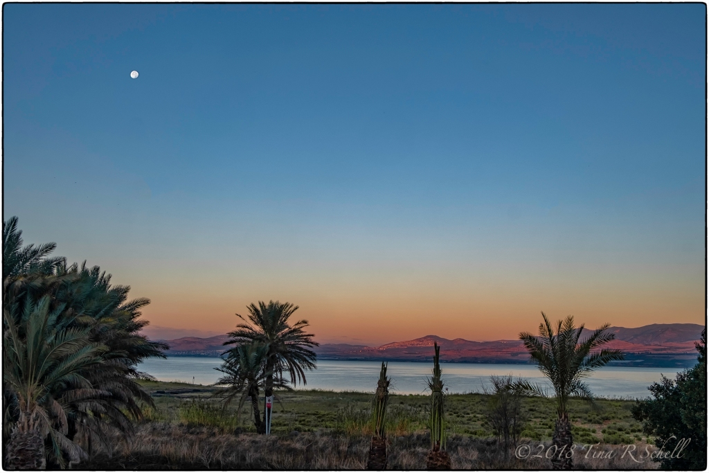 SUNRISE, SEA OF GALILEE