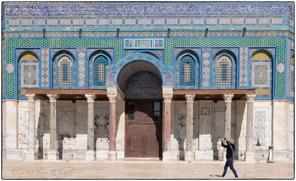 DOORWAY, DOME OF THE ROCK, JERUSALEM