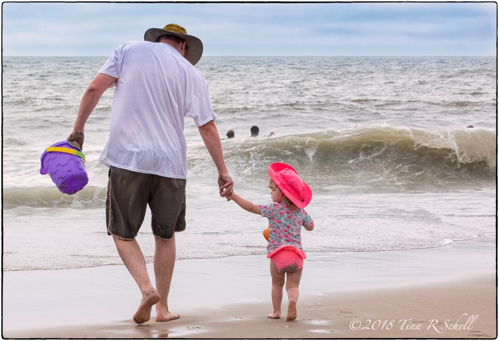 BEACH DAY WITH DADDY