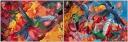 street art, hummingbirds