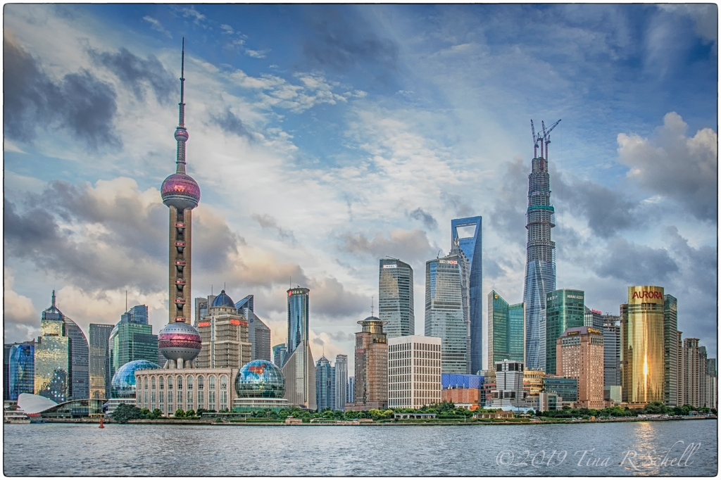 modern skyline, shanghai
