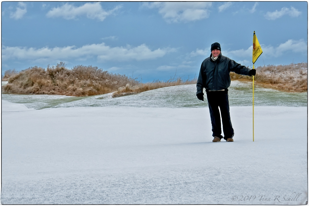 Snow, Ocean Course, Kiawah Island