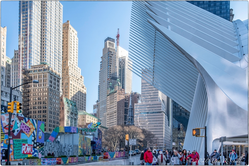 Lower Manhattan, NYC, Calatrava Oculus