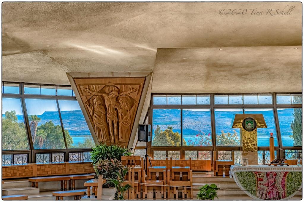 church, windows, Galilee