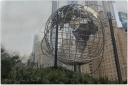 globe, sculpture, NYC