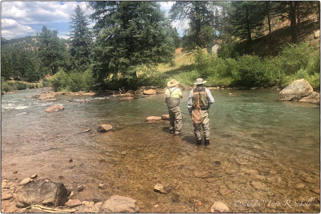fishermen, river