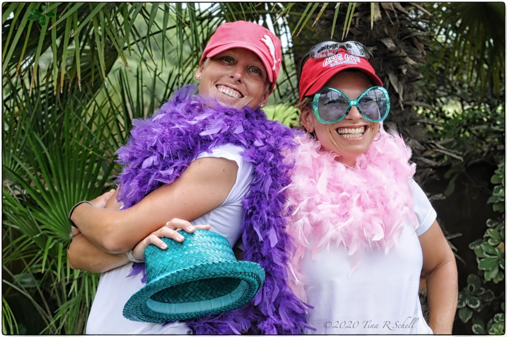 golf, fun, color, female golf pros