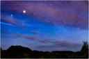 stars, night, sky