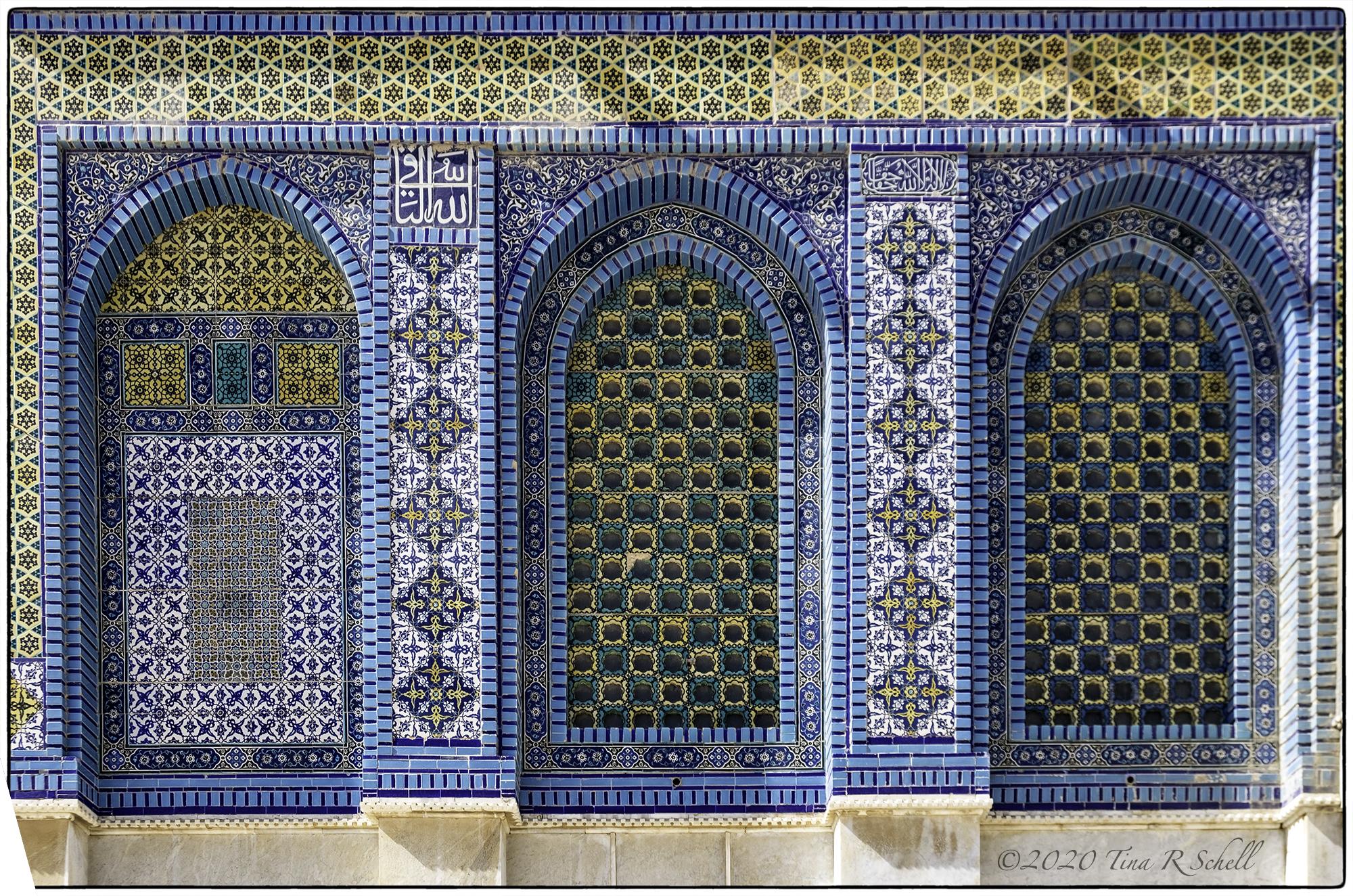 windows, blue, mosque, orange