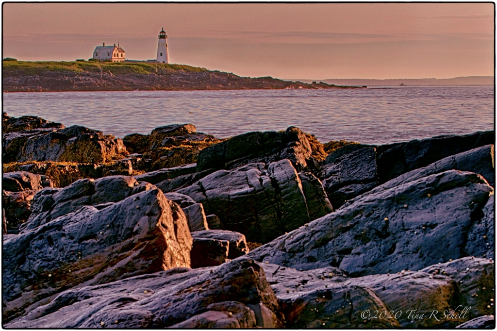 SUNRISE, ROCKS, MAINE