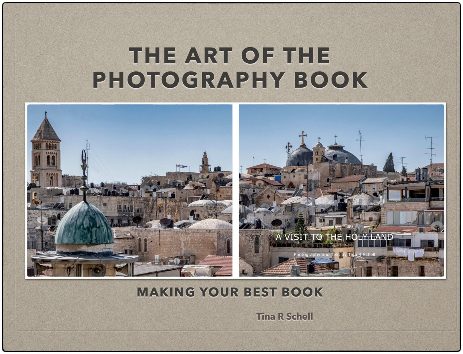 PHOTOGRAPHY BOOK, ISRAEL