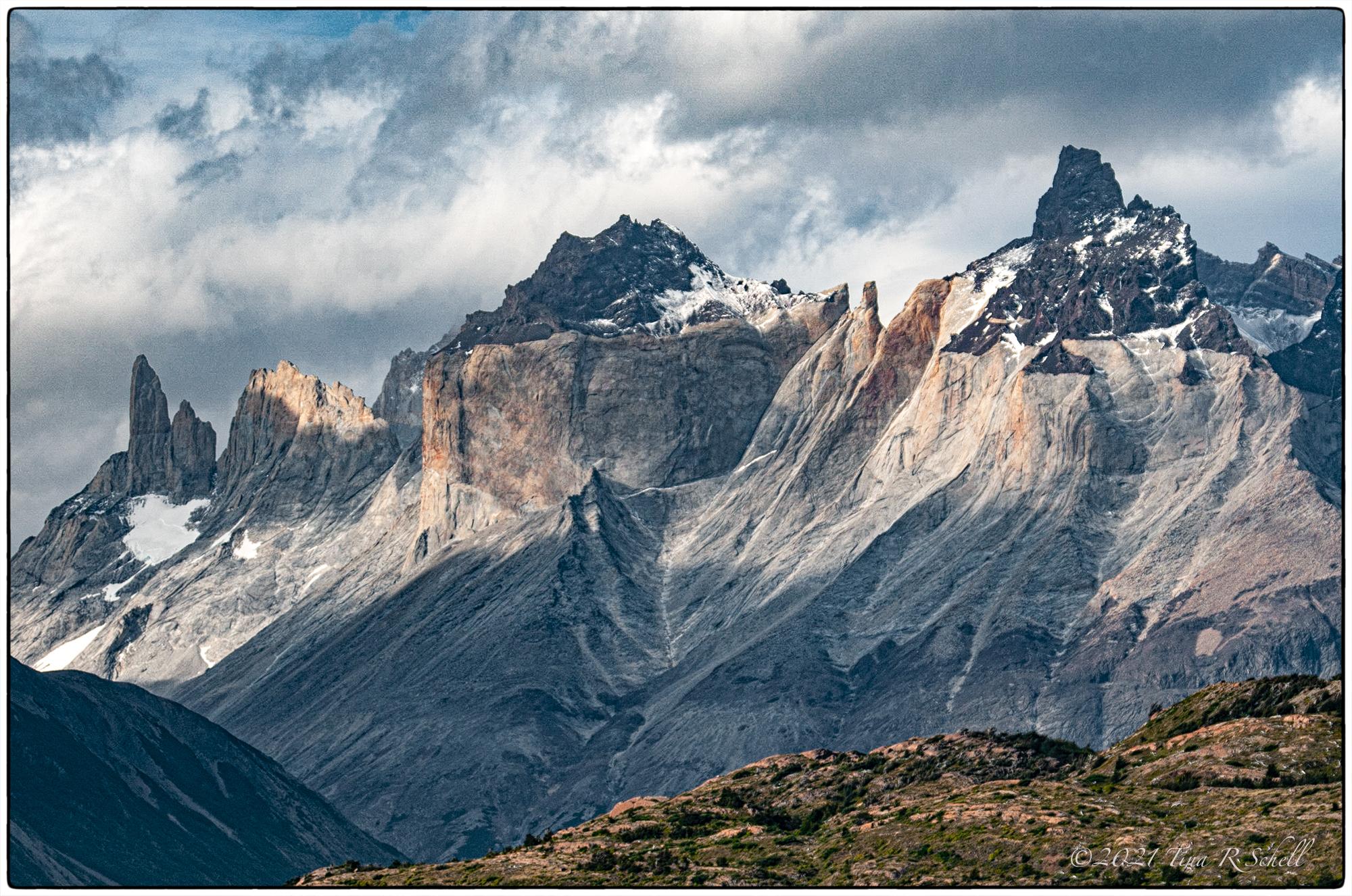 patagonia, mountains, Torres del Paine