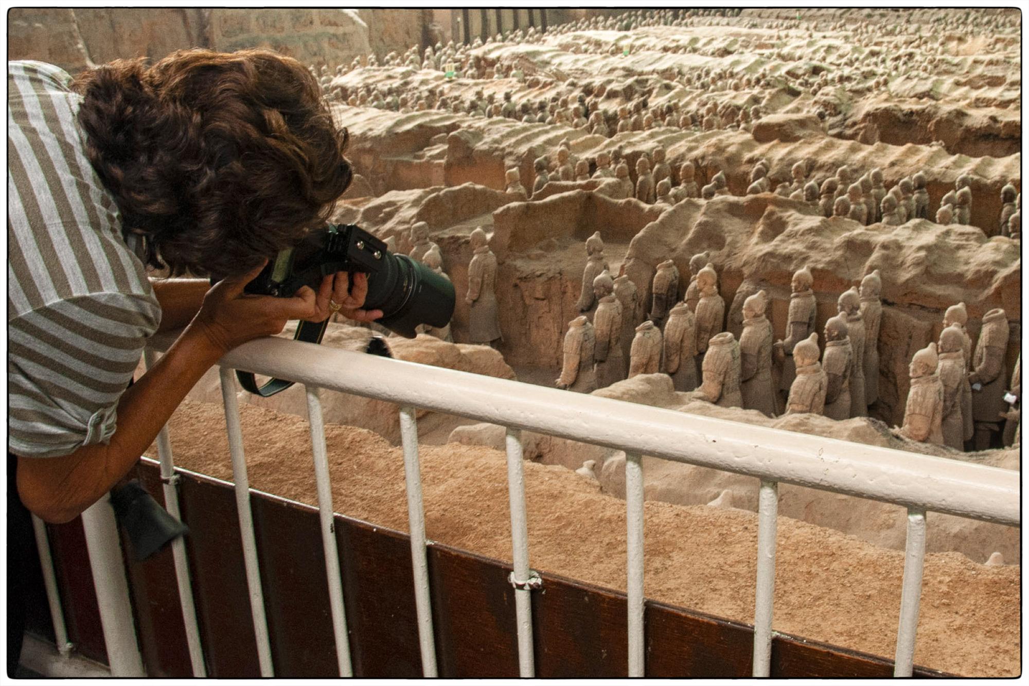 Terra cotta warriors, xian, china, photography